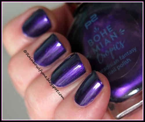 P2 Bohemian Tropics ~ 030 Violet Bloom