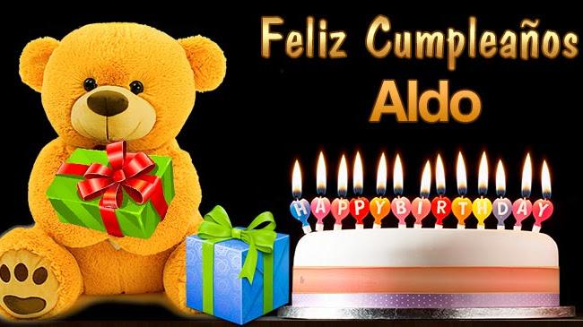 Feliz Cumpleaños Aldo