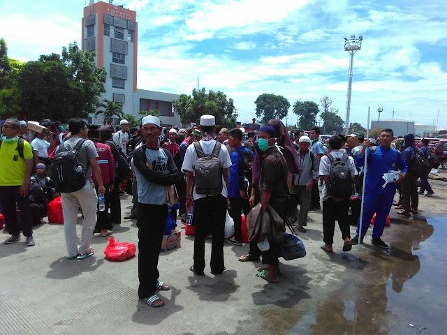Jemaah 212 Lampung Lewat Jalur Panjang-Tanjung Priok