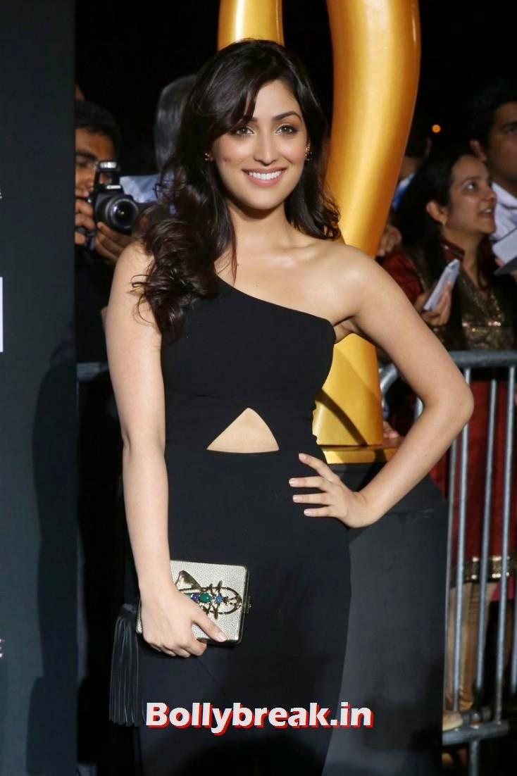 Yami Gautam, Bollywood Celebs sizzle on IIFA 2014 Green Carpet Pics