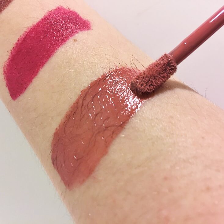 e.l.f. High Shine Liquid Lipstick Bitten Pink swatch