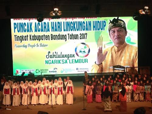 Peringatan Hari Lingkungan Hidup Sedunia 2017 Kabupaten Bandung
