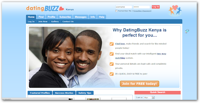 RSA Dating Site.