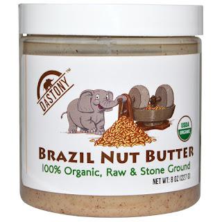 زبدة الجوز البرازيلي العضوية Dastony, 100% Organic Brazil Nut Butter, 8 oz (227 g)