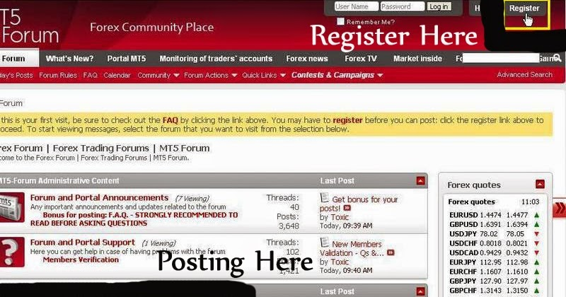 Earn Instaforex Bonus For Trading With MT5 Forum « Earn By