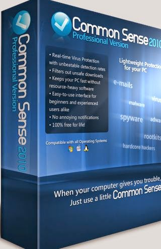 Common Sense 2014 Free Antivirus