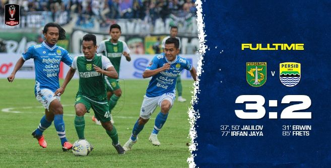 Persebaya vs Persib 3-2 Highlights - Piala Presiden 2019
