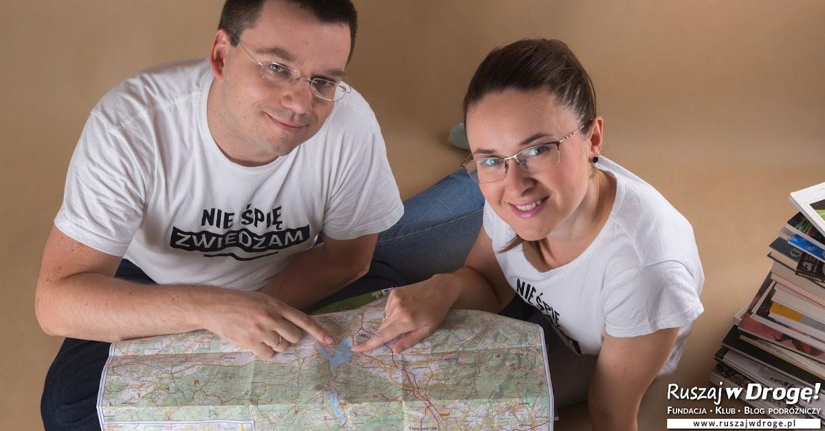 Zapisz się na nasz darmowy Kurs Ruszaj w Drogę! Kasia i Macieja Marczewscy