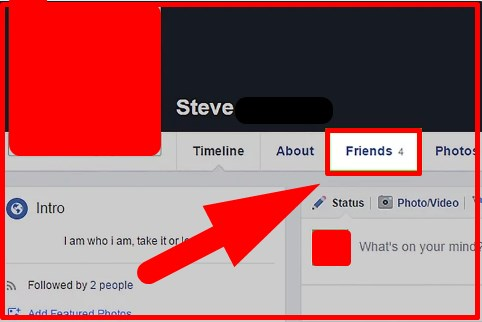 how to see who you re following on facebook