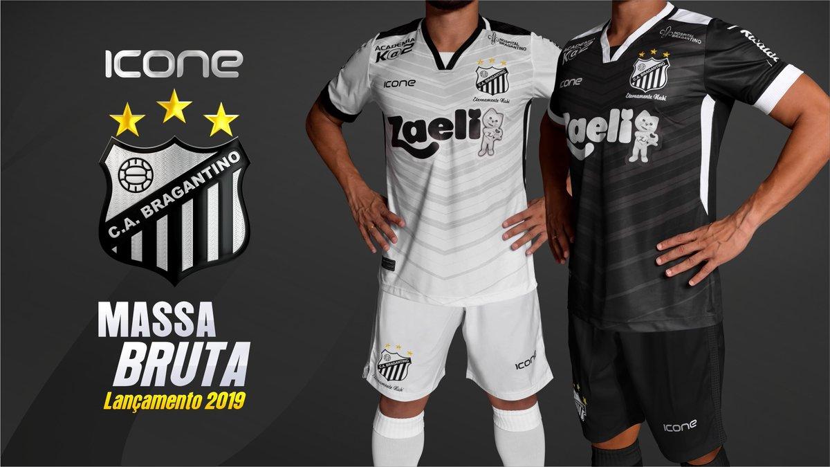 Ícone Sports lança as novas camisas do Bragantino - Show de Camisas 5c090299b1040