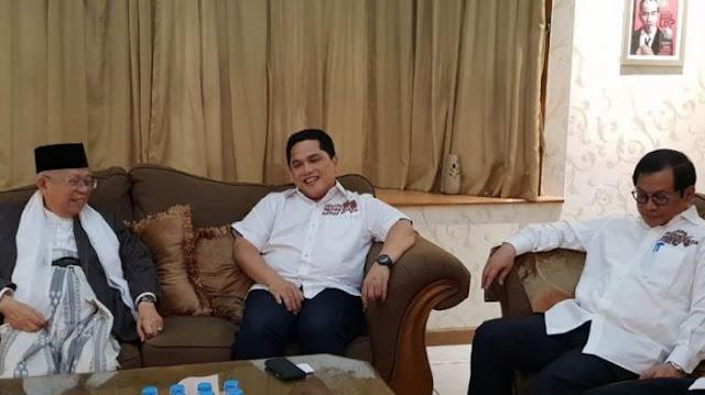 Erick Thohir Resmi Ditunjuk Ketua Tim Kampanye Jokowi - Ma'ruf Amin