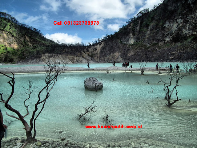 Kawah putih video