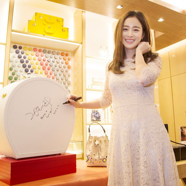 Kim Tae-Hee in Malaysia for Bonia Flagship Boutique Opening