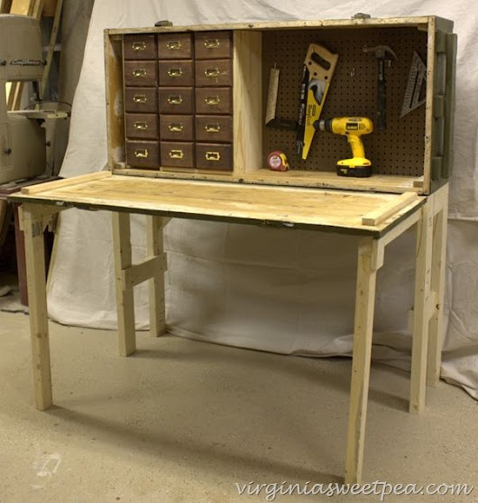 Rifle Case to Workbench at Virginia Sweet Pea