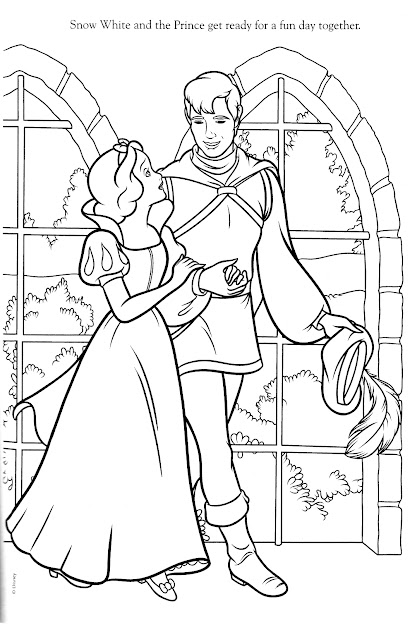Disney Coloring Pages Disney Coloring Page  Snow White
