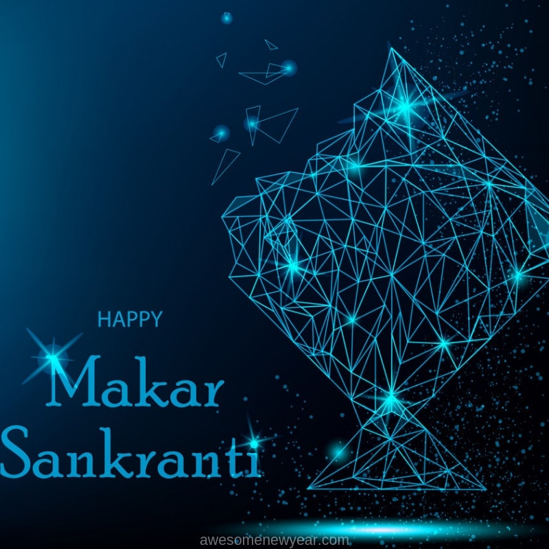Happy Makar Sankranthi Images to share with your friends and family