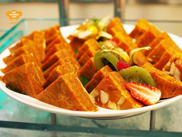 Sri Lankan desserts carrot hawa