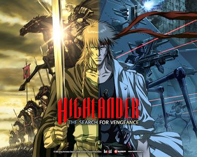 Anime Movie Highlander: The Search for Vengeance Subtitel Indonesia