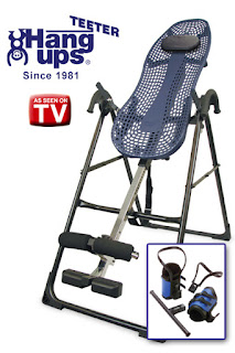 Inversion Table Hang Ups Teeter As On Tv