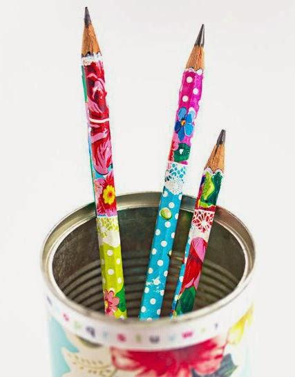 decoupage lápices