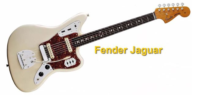 Características de la Guitarra Eléctrica Fender Jaguar