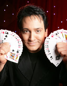Terry Evanswood magician in the Smokies