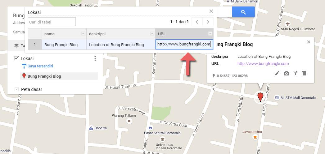 Menentukan Lokasi atau Tempat Sendiri di Google Maps