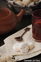 Galletas árabes con agua de azahar