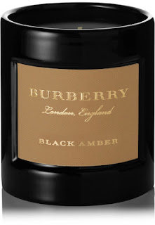 Burberry Beauty Black Amber scented candle