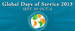 Global Days of Service logo