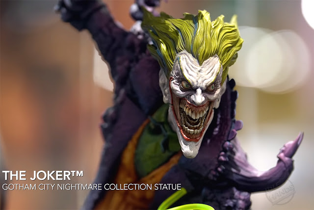 SDCC 2018 Sideshow DC Comics Joker Gotham City Nightmare Collection Statue