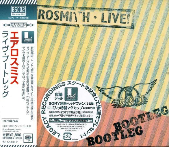 AEROSMITH - Live! Bootleg [Blu-Spec CD2 remastered] full