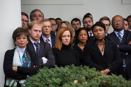 What is Happening Here? These Photos of White House Staff Looking Sad Has Got the Whole World Talking