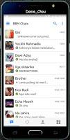 BBM Like iOs versi 3.0.018 Full Dp