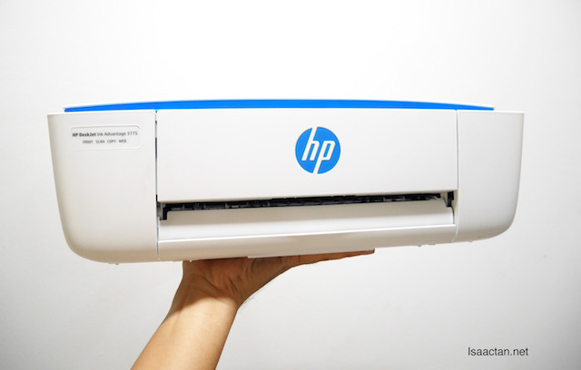 HP Deskjet Ink Advantage 3700 Series - World's Smallest Inkjet All-in-One Printer