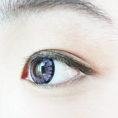 [Sponsored] ~ Ellen Panda PM Violet Circle Lenses