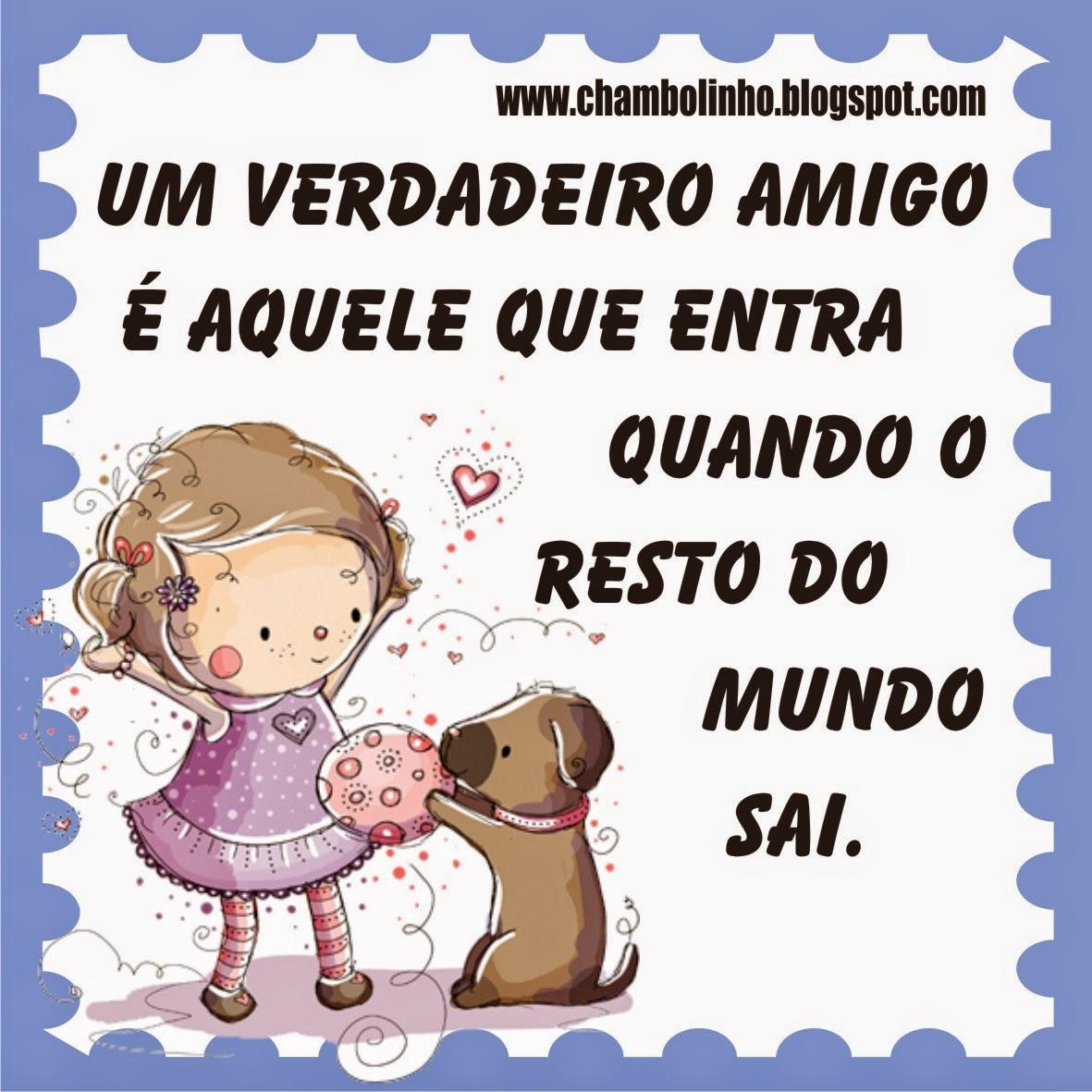 Imagens Com Frases De Amizade Verdadeira