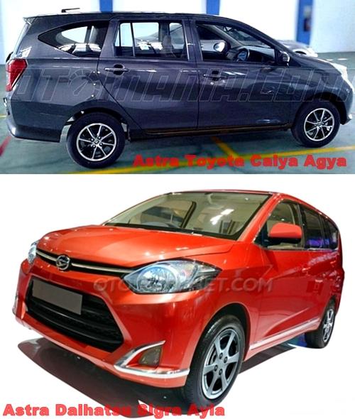 MPV Murah Toyota-Daihatsu Masih Pakai Nama Agya dan Ayla