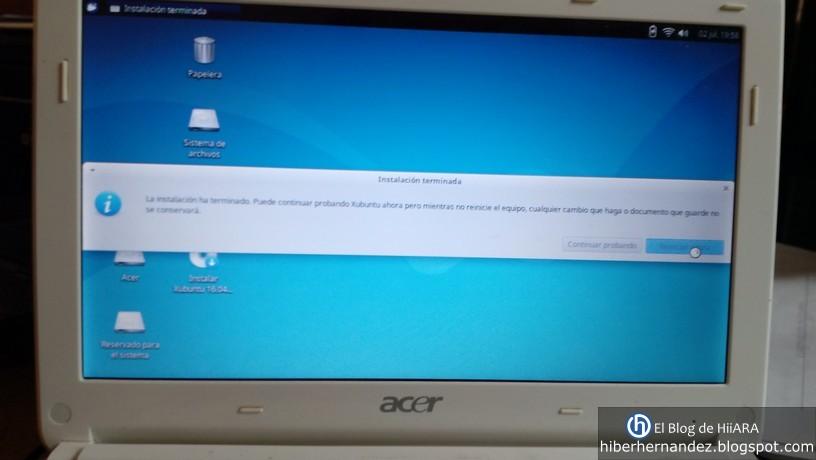Instalación terminada de Xubuntu 16.04 - El Blog de HiiARA