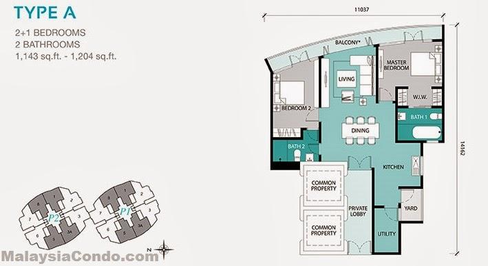 Kl Gateway Premium Residences Malaysiacondo