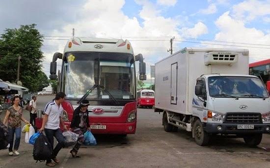 Thủ tục chuyển đổi xe khách thành xe tải