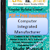 Computer Integrated Manufacturer PDF Study Materials cum Notes, E-Books Free Download
