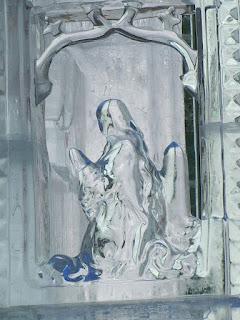 Figura św. Barbary z Okoličnego.