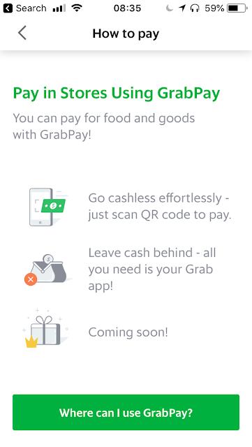 Where can you use GrabPay?