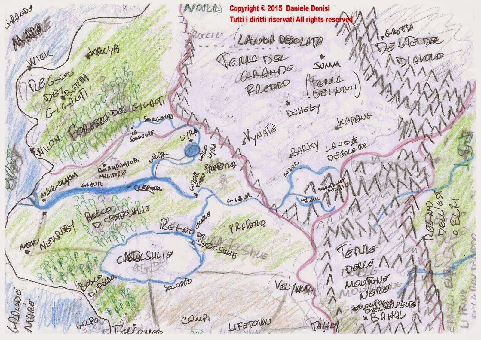 Mappa Bracbah Daniele Donisi