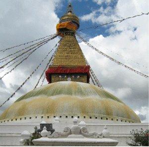 Stupa de Kathmandou photo par Gwénola Le Serrec