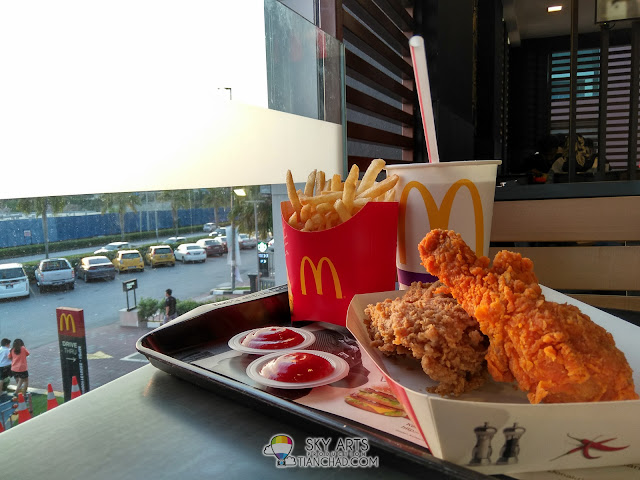 Ayam Goreng McD that might makes you feel the spicyness even when it comes out LOL