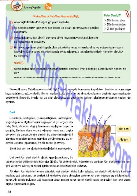 Mevsim Yayınları 7. Sınıf Fen Bilimleri Ders Kitabı Cevapları Sayfa 48