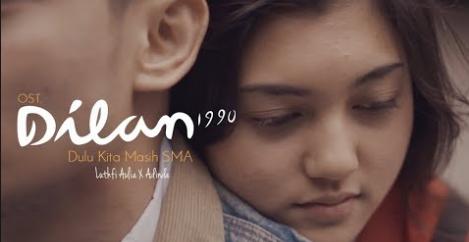 Ost, Pop, Cover, Download Ost Dilan 1990 - Dulu Kita Masih SMA Mp3 (5.42MB)