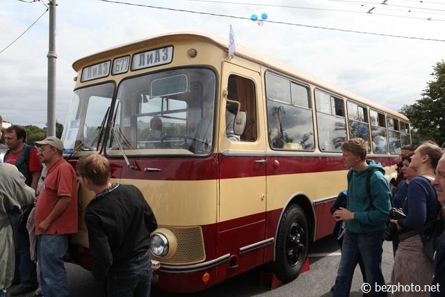 парад ретро автобусов 2016 фото